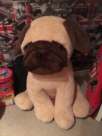 Giant pug teddy