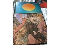 X2 Santana vinyl albums