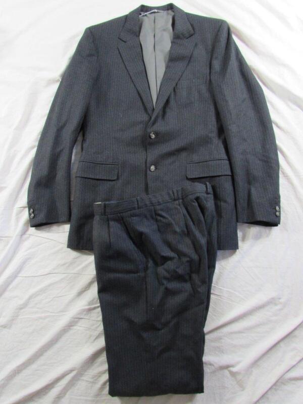 Maurice Abrahams Dublin 2 Pc Bespoke Wool Suit Rockabilly Jacket & Pants