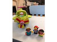 Sainsbury's Grow and Play Aeroplane with characters £4