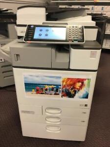 LEASE 2 OWN $79/month - REPOSSESSED Ricoh Aficio Color Printer MP C2003 Copy Machine Photocopier
