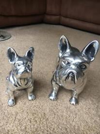 Beautiful French Bulldog Mum and puppy in Aluminium