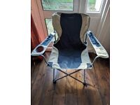 Wynnster folding camping/fishing chair for free