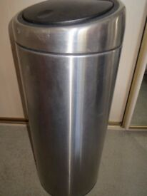 brabantia bin - small 75 X 30 cm in excellent condition virtually unused