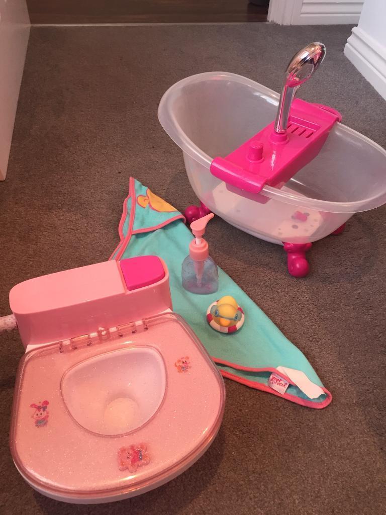 Baby Born Bath & Toilet