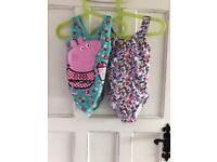 Girls swimsuits aged 4-5
