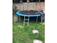 Free trampoline 8 foot with ladder