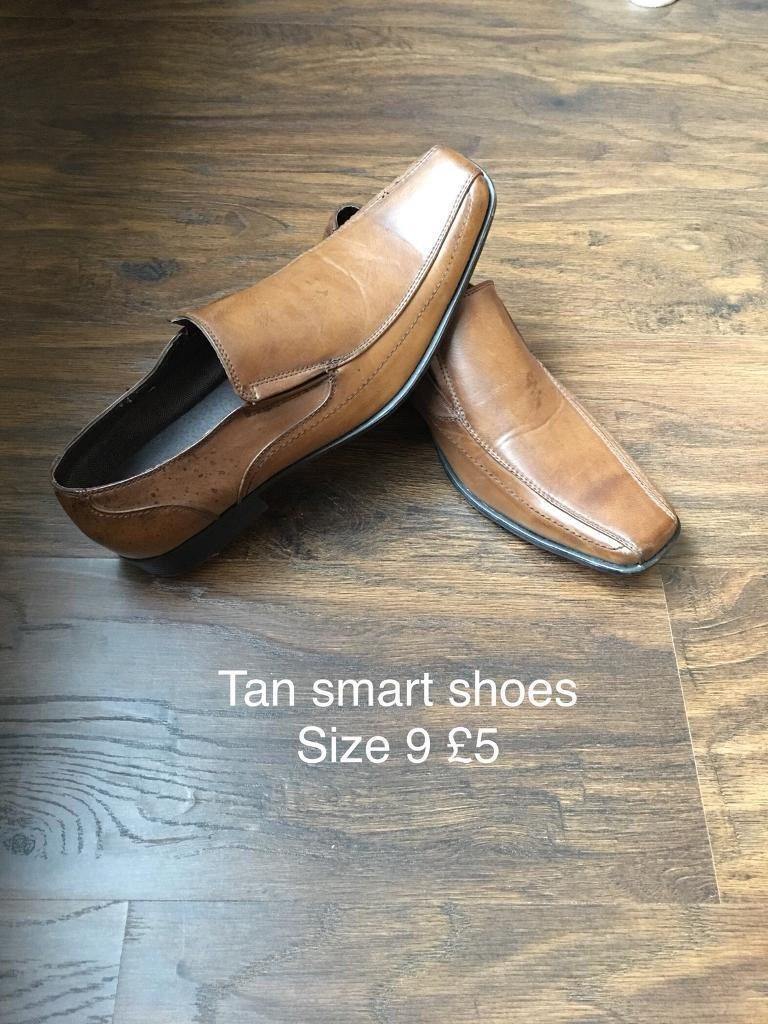 Tan/brown Smart shoes