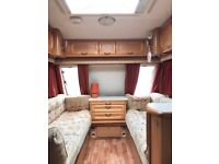 Omega Compass 524 4 berth Caravan ready to go
