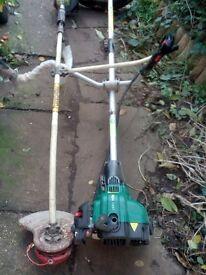 Job lot of petrol strimmers, spares/repair