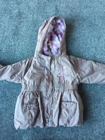 Girls coat age 12-18 months
