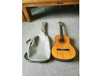 GUITAR ACOUSTIC HOHNER MC-04 ( 6 STRING ) 3/4 SIZE GOOD CONDITION AND FULLY WORKING