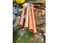 160mm Underground Drainage Polypipe.