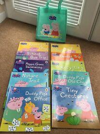 Collection of books - Peppa Pig, Angelina Ballerina, Disney