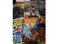 Bargain job lot of Silver/Bronze Age comics for sale!