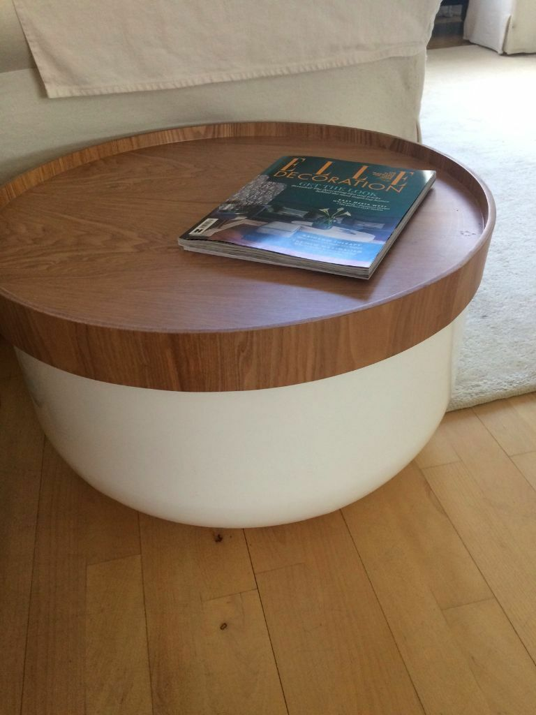 beautiful habitat coffee table with storage   in hammersmith