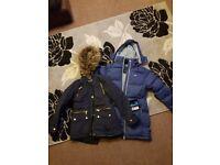 Two winter coats girls 10 11