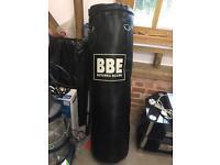 Leather Punchbag 4ft BBE