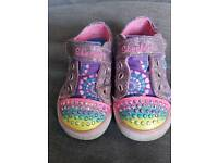 Twinkle toes by skechers size 5