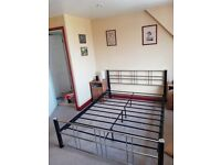 Kingsize Metal Bedframe free to anyone who can collect