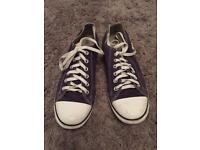 Converse trainers. Men size 8