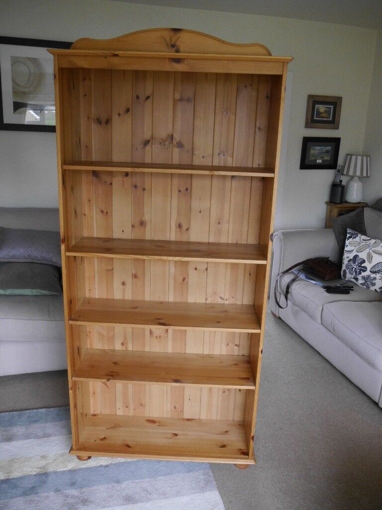 Pine Freestanding Bookcase In Holmes Chapel Cheshire Gumtree