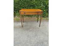 Lovely Antique Bow Fronted Hall Table