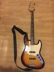 Fender Standard Jazz Bass + Pro Bass Guitar Gig Bag
