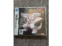 Nintendo DS game Pokemon Pearl version