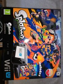 Nintendo Wii U Console Splatoon Premium Pack IP1