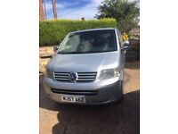 Vw transporter shuttle *full leather*9 seater*automatic*sports box