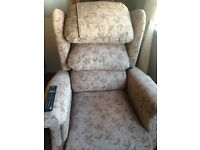 Reclining and lifting chair, great condition