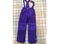 Girls salopettes/ski pants