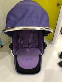 Icandy 2 lower seat