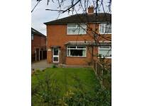 semi detached house in Alsager for rent