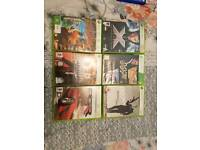 Xbox 360 games 6 for £10