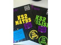 Gold stars Maths and English Education Books