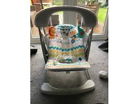 Baby swing seat fisher price