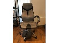 Lyra Fabric Manager's Chair used in good condition
