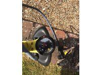 Foot pump black and yellow 160psi