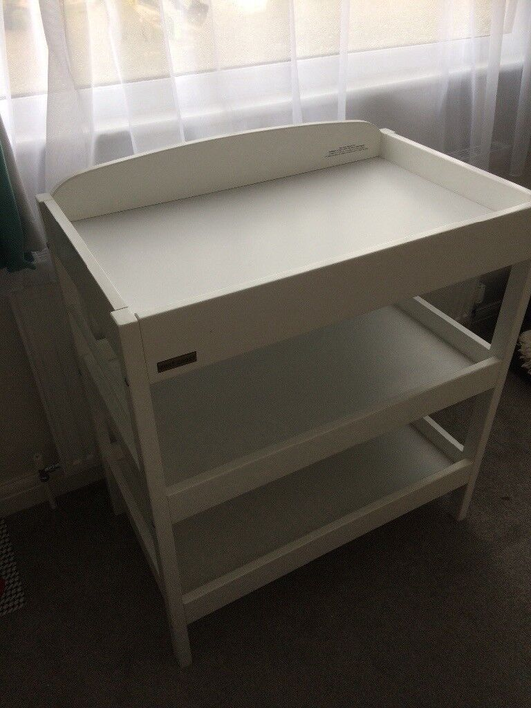 East Coast White Changing Table
