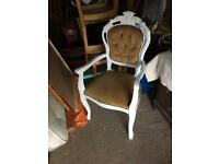 France stile two carvers chairs £60 one £100 for both