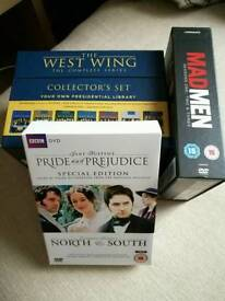 West wing madman dvd sets