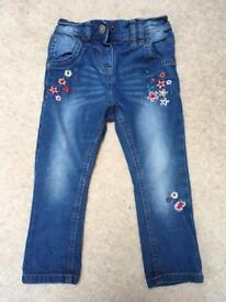 As new next jeans 18-24 months