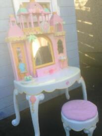 Girls dressing table and Barbie play station