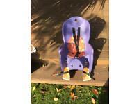 Hamax kiss child baby bike seat