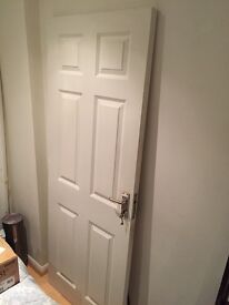 White Fire Door