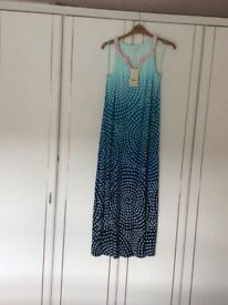 Monsoon Summer Maxi Dress, Brand new with tags, size Large