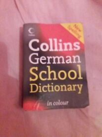 Collins German School Dictionary in colour for students
