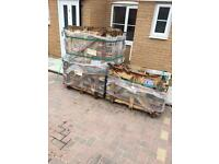 Free wooden box pallets or fire wood